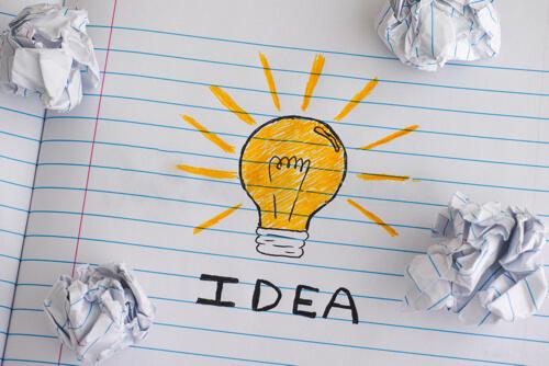 自分だけでは思いつかないアイデアが生まれる